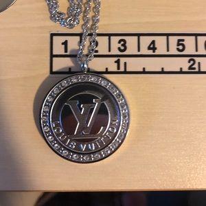Silver LV Pendant